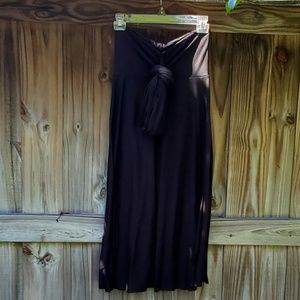A convertible Skirt-Black
